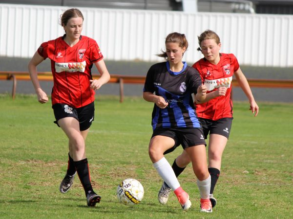 Asha McClurg and Hannah Armstrong were in fine form in their sides upset 2-2 draw against Eaton Dardanup