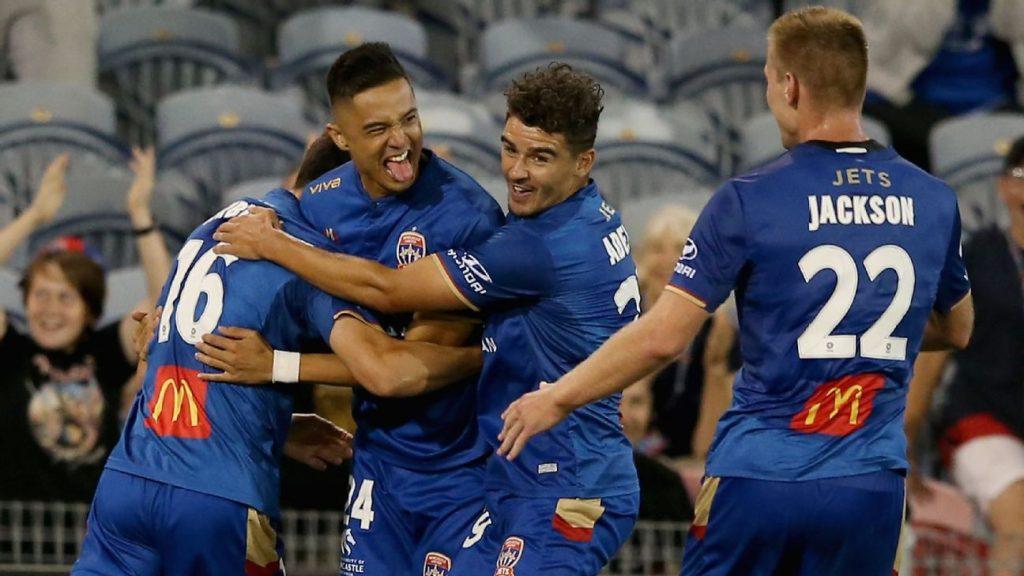 cfa5e9eec5b Newcastle Jets produce shock win over Melbourne City