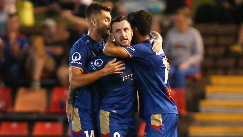335a299a8 Newcastle Jets beat Western Sydney Wanderers in five-goal thriller