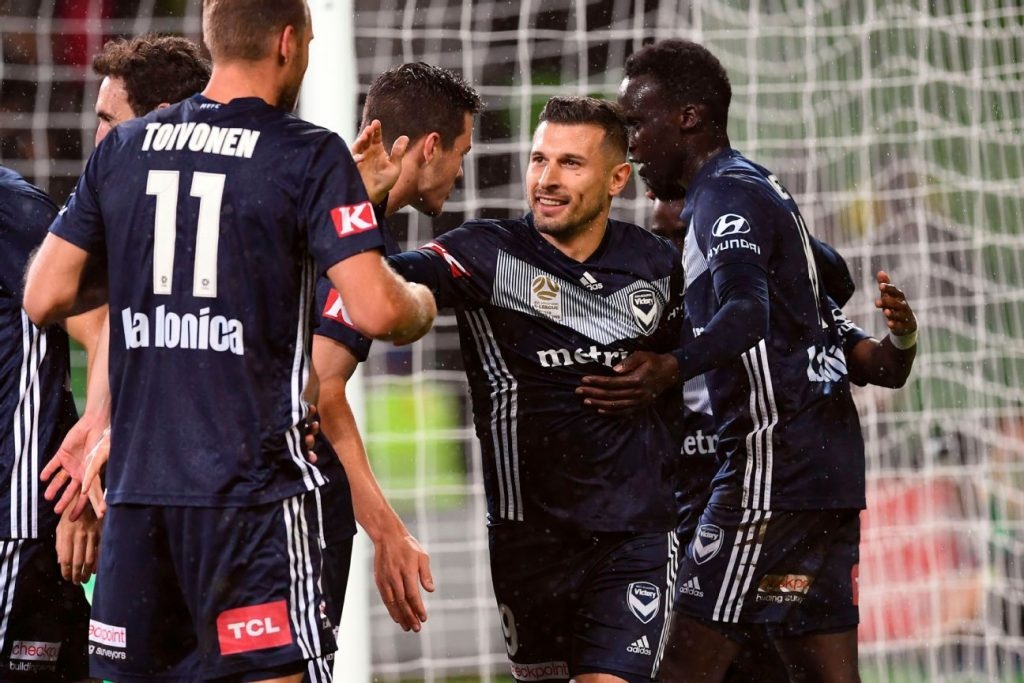 37800ed45 Melbourne Victory down Wellington Phoenix to march on in A-League finals