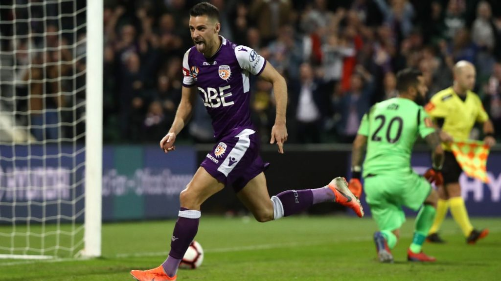 c98561fac Perth Glory edge out Adelaide United on penalties to reach A-League Grand  Final